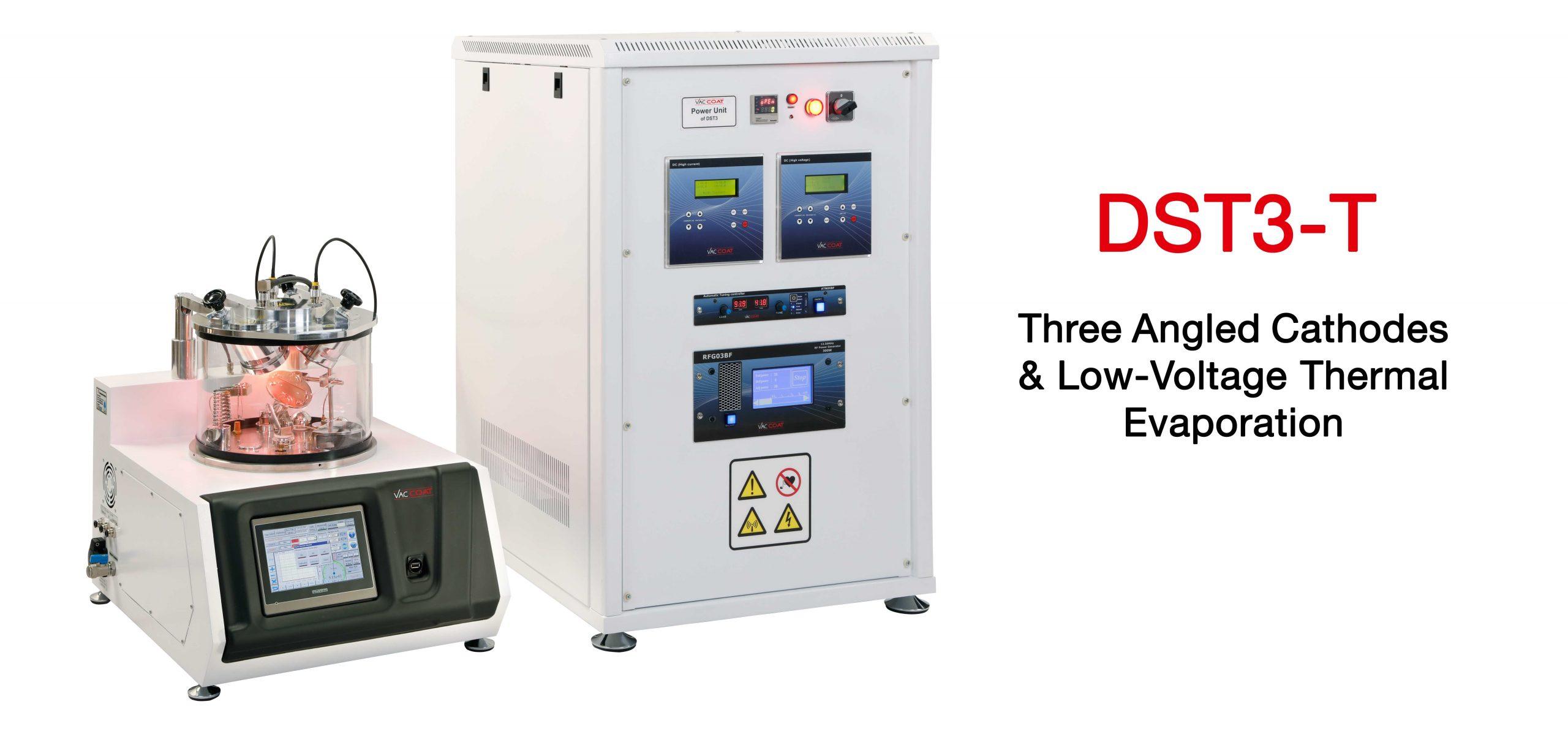 高真空三磁控靶台式溅射镀膜机(Desk Sputter Coater - DST3-T)