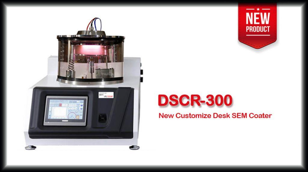 DSCR-300 New Customize Desk SEM Coater