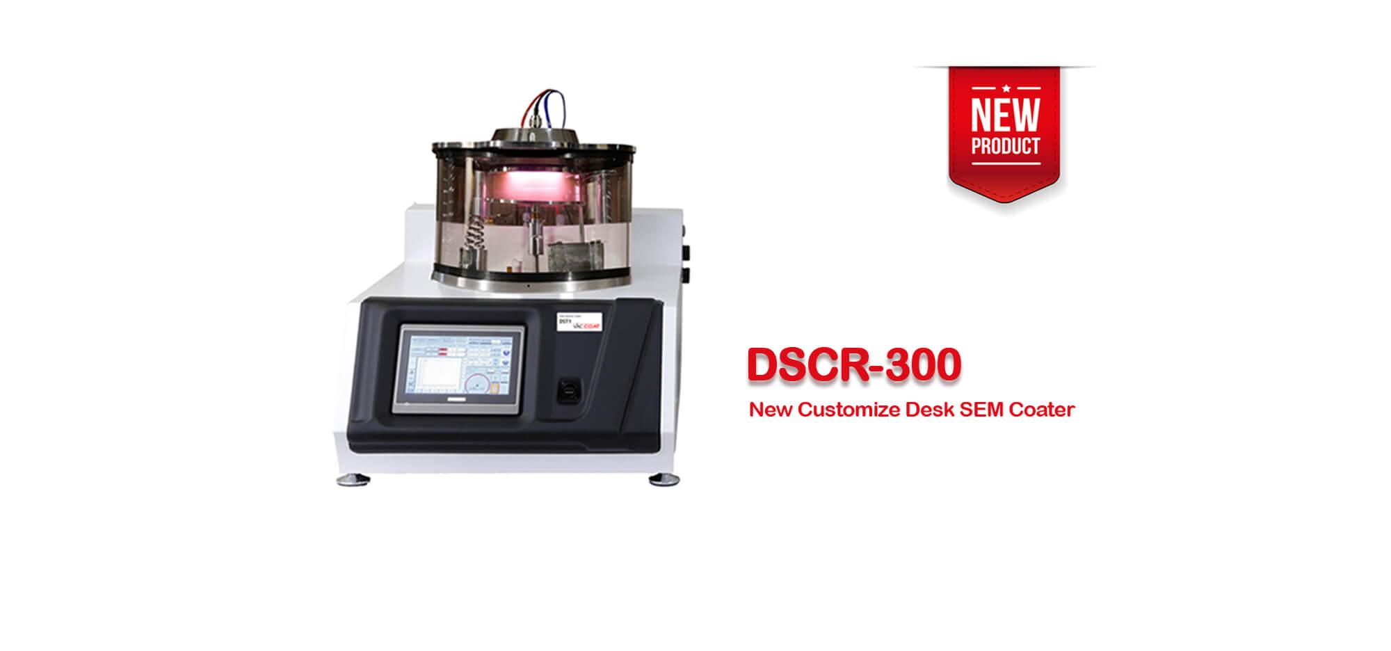 DSCR-300:New Customize Desk SEM Coater
