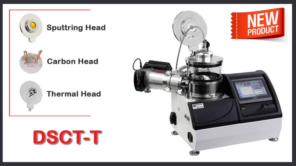 Desk Sputter Coater and Carbon/Thermal Evaporator in One New System