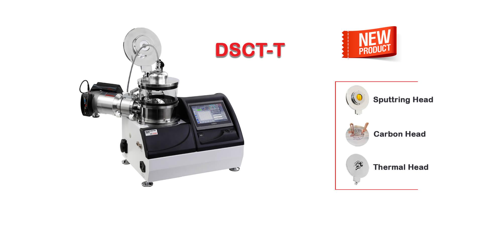 New System: Sputter Coater & Carbon/Thermal Evaporator