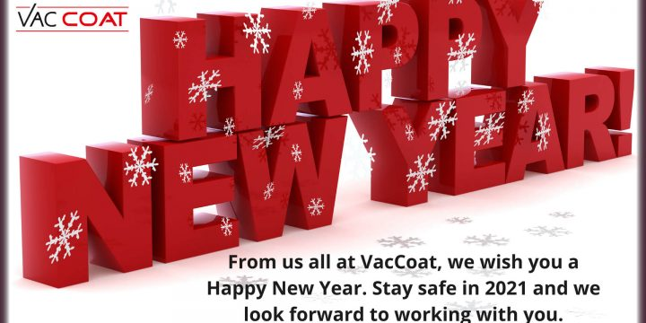 Happy New Year from us all at Vac Coat