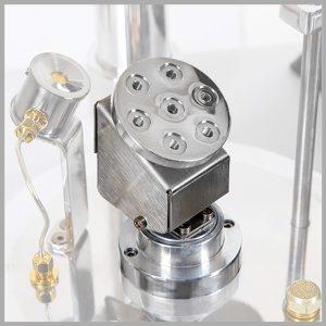 Vac Sample Planetary Rotation with Device