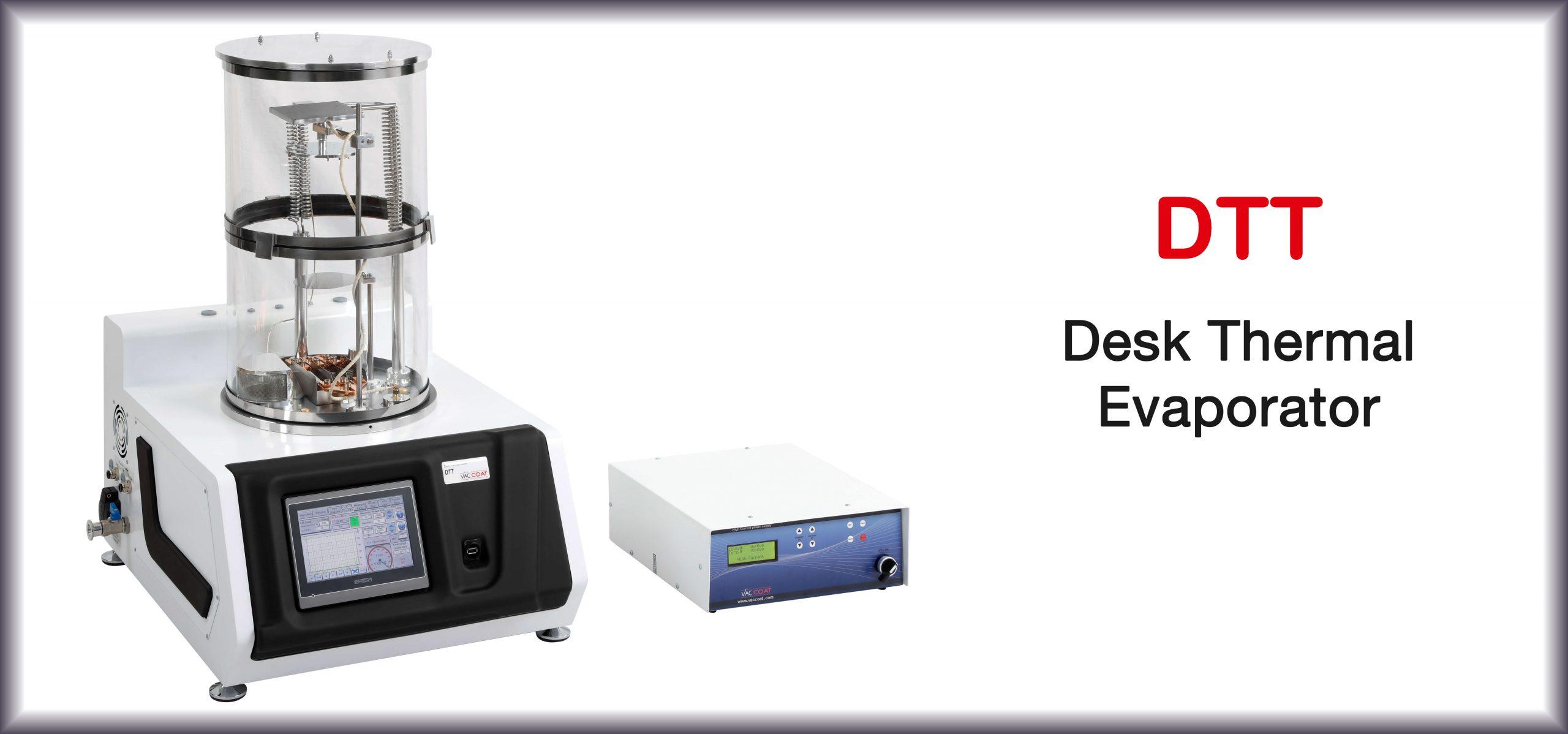 Desk Thermal Evaporator - DTT   VacCoat Product